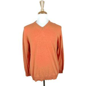 Cashmere Made in Italy V-Neck Sweater. Siz…